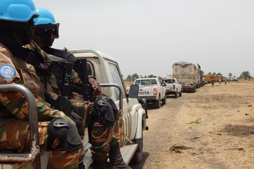 Corridor Douala-Bangui : la Minusca s'engage à sécuriser trois départs de convois marchands par semaine