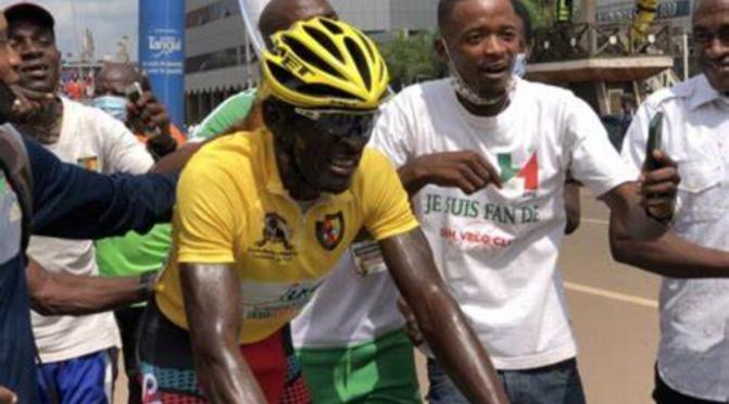 Cyclisme : Kamzong Abossolo vainqueur du Tour du Cameroun 2021